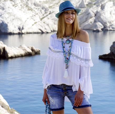 Hippie kleider mode gro e gr en f r mollige auf xxl styles - Hippie bluse damen ...